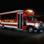 Fire Truck Party Bus
