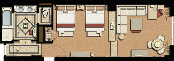 The bella suite floorplan1