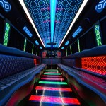 Colors Inside 32 Passenger Party Bus