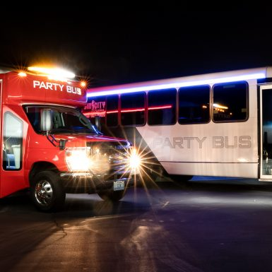 las vegas party buses