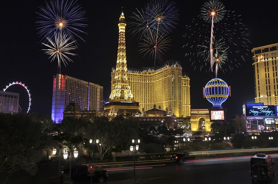 New Year In Las Vegas